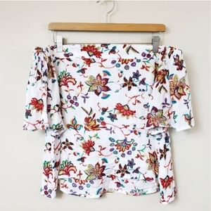 NWT Alythea | Floral Off the Shoulder Top